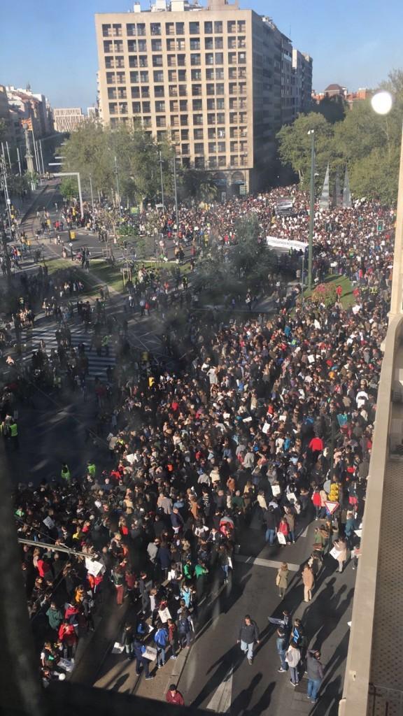Manifestación enseñanza concertada Zaragoza