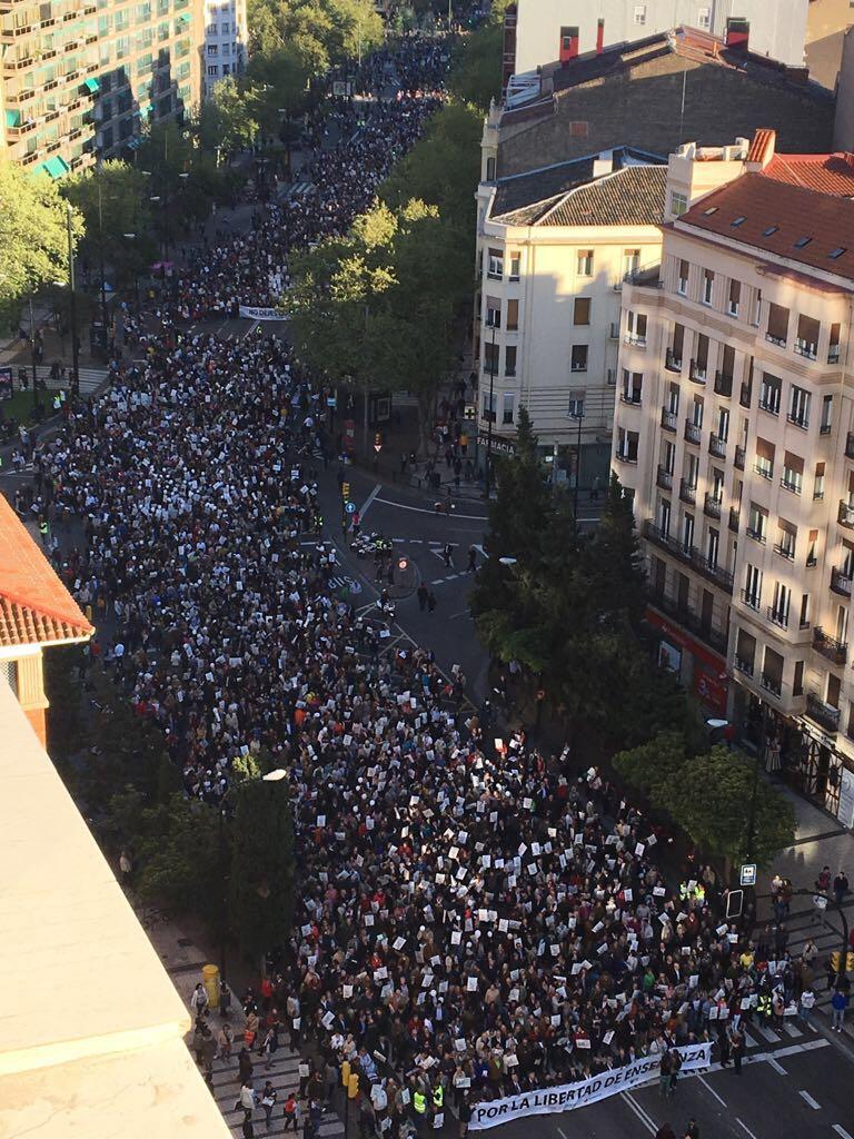 Manifestación enseñanza concertada Zaragoza (6)
