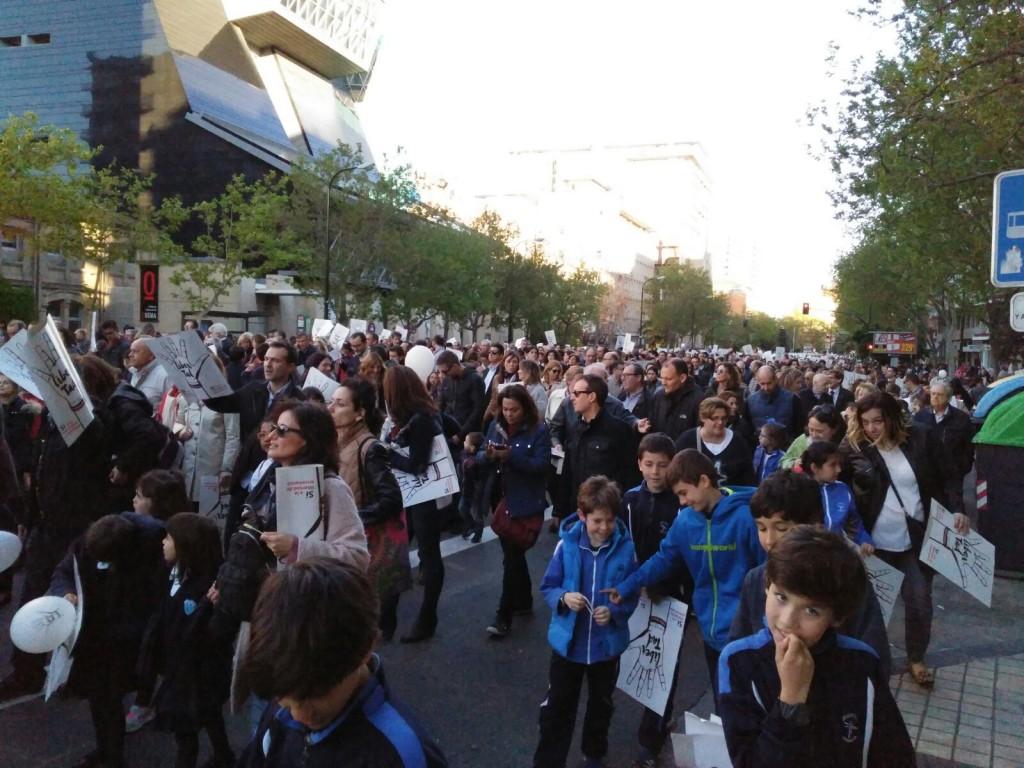 Manifestación enseñanza concertada Zaragoza (7)